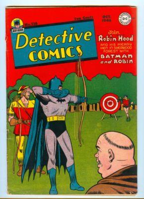 DETECTIVE COMICS No. 116- BATMAN AIR WAVE BOY COMMANDOS FINE-