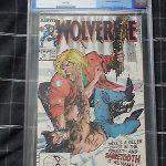 Wolverine #10 – Marvel Comics – CGC 9.6 – Near Mint + – SABRETOOTH CLASSIC COVER