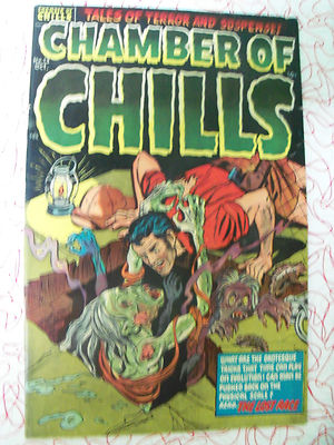 CHAMBER OF CHILLS # 13 VF+ 1952 Pre Code Horror Witches Tales high grade NR 3day