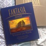 Disney Fantasia 2000 Visions of Hope deluxe edition book with silver slipcase