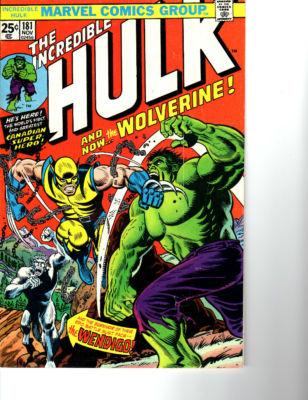 Incredible Hulk #181 Higher Grade Hi-Res scans NO RESERVE!