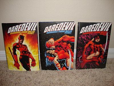 Frank Miller's Daredevil Visionaries (Volumes 1-3) Hardcover