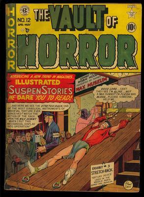 Vault of Horror #12 Scarce Golden Age EC Horror Comic 1950 App. FR-GD