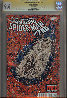 AMAZING SPIDERMAN #700 CGC SS SIGNED BY STAN LEE MARVEL COMIC BOOK 1ST PRINT
