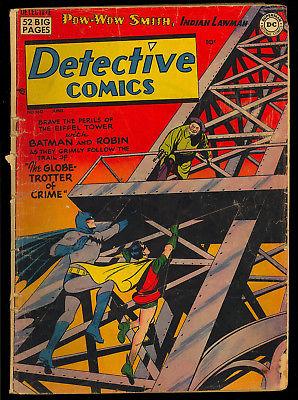Detective Comics #160 Unrestored Pre-Code Golden Age Batman DC Comic 1950 GD