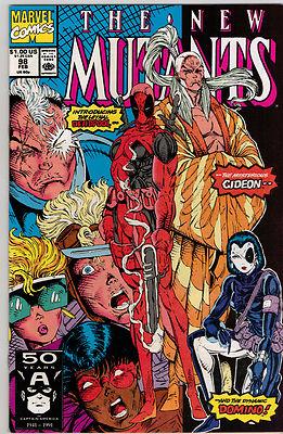 The New Mutants #98 Near Mint/Mint First Deadpool