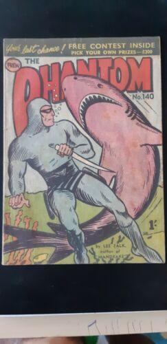 Frew Phantom comic book issue 140 excellent condition