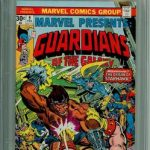 MARVEL PRESENTS #9 CGC 9.8 WHITE PAGES GUARDIANS OF GALAXY