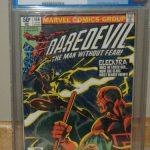 Daredevil #168 (Jan 1981, Marvel) CGC Graded 5.0