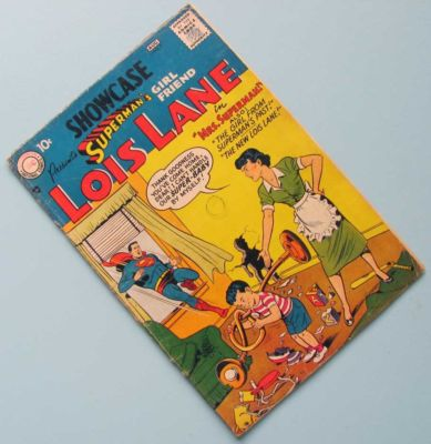 SHOWCASE #9 – 1st LOIS LANE – About GD+ UNRESTORED – Look at the pictures