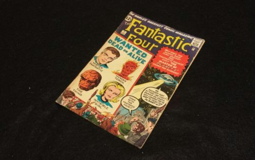 FANTASTIC FOUR #7~~~SILVER-AGE CLASSIC(1962):STAN LEE, JACK KIRBY-NICE!!!