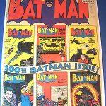 1956 BATMAN #100 Anniversary DC Comics est 2.0 GD Apparent RARE Off WHITE Pages