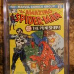 The Amazing Spider-Man #129 (Feb 1974,Marvel) CGC 5.5 1st appearance of Punisher