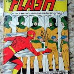 1959 The Flash 105 Comic Book Mirror Master About 2.0 Good Rare First in Title