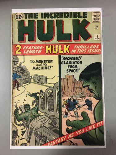 Incredible Hulk 4!!! 4th Apperance Of The Hulk!!! Rare!!