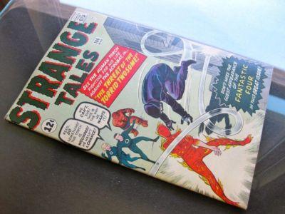 Strange Tales #106 -HIGHER GRADE- Fantastic Four App!!!