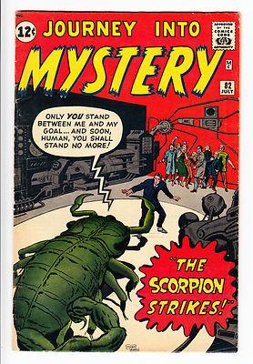 Journey Into Mystery # 82 FN Scorpion Strikes