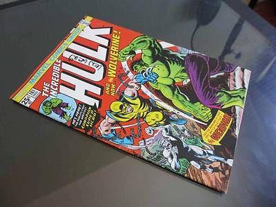 Incredible Hulk #181 MARVEL 1974 -HIGHER GRADE- 1st Ever App WOLVERINE (X-Men)!