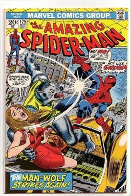 Amazing Spider-Man # 125 NM 9.2 2nd Man-Wolf App BV$100