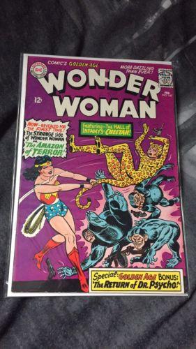 Wonder Woman #160, First Silver Age Cheetah, DC, VF