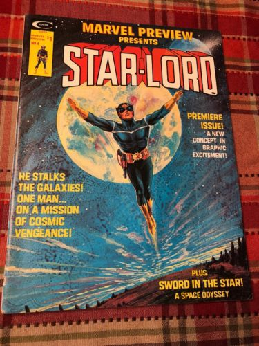 Marvel Preview #4 1976 1st STAR-LORD Guardians of the Galaxy – VF- to VF