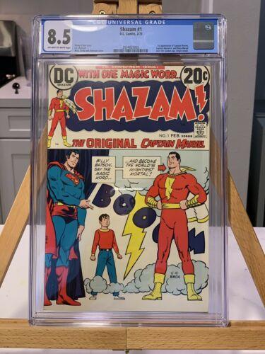 Shazam! #1 CGC 8.5 VF+ 1st Appearance of Shazam Since Golden Age