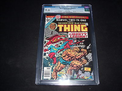 Marvel Two In One Annual #1- CGC 9.6 – Only One Graded Higher!