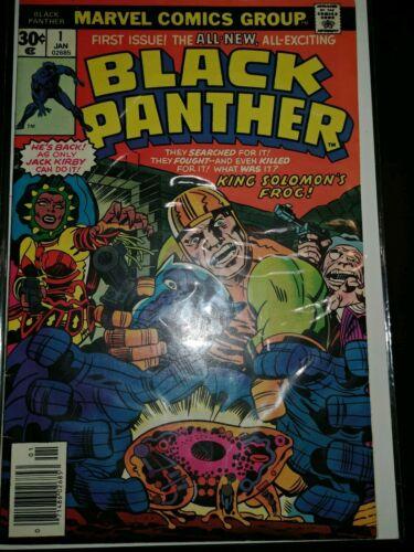 BLACK PANTHER #1 1977 JACK KIRBY STORY/ART