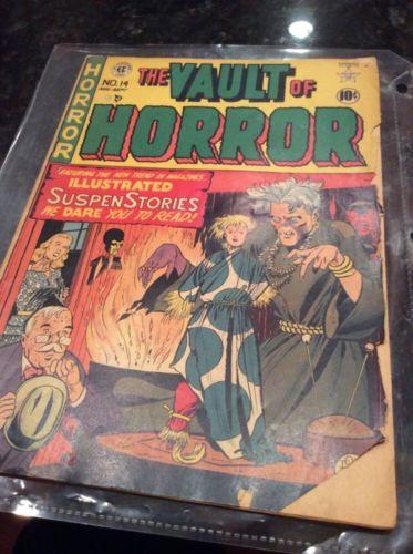 Vault Of Horror #14 (#3) EC Golden Age scarce 1950
