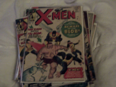 Uncanny X-men3# (1963) Uk version 9d price marked