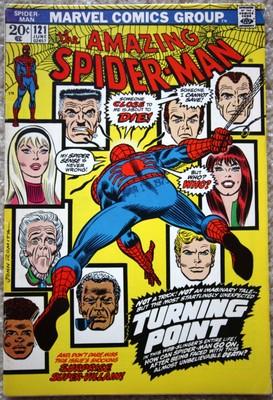 AMAZING SPIDER-MAN # 121 BRONZE AGE KEY ISSUE NR