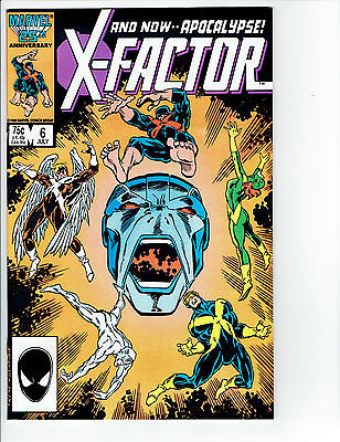X-Factor #6 1st Full Appearance Apocalypse! NM- Hot Book!!