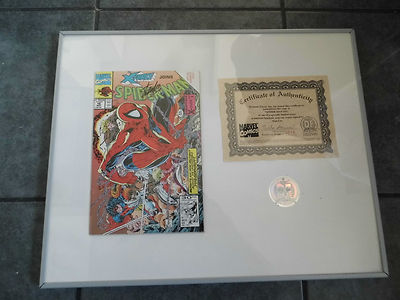 FRAMED – SIGNED BY STAN LEE – SPIDER-MAN #16 -WITH COA