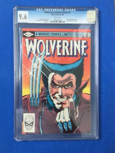 Marvel Comics Wolverine Limited Series #1 CGC Universal Graded 9.6