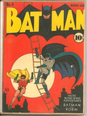 Batman #4 (1940) 4th Finger Robinson Joker Story BIN