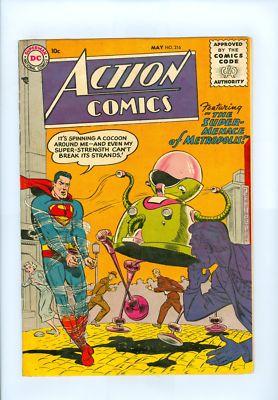 Action Comics #216 VG+ Super Bright Boring Superman