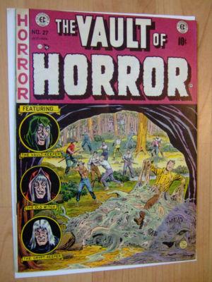 EC VAULT OF HORROR # 27 FN/FN+ CRAIG COVER 1952