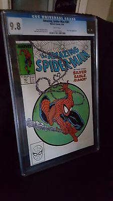 The Amazing Spider-Man #301/ Mega key/ 2nd Venom/ KeyMcFarlane/ CGC 9.8 white pg