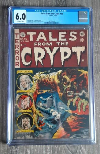 Tales From The Crypt #35 (EC Comics, 1953) ~ 6.0 CGC