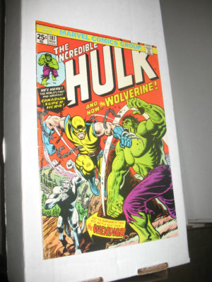 Incredible Hulk #181 1st App of Wolverine 6.0-6.5 Value Stamp intact