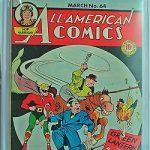 All-American Comics #64 CGC 4.5 Golden Age Green Lantern Off-white to White pgs