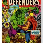 THE DEFENDERS #10 1974 NM/NM+ 9.4/9.6 HULK VS THOR BATTLE