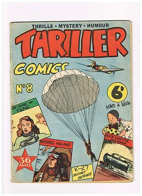 Thriller Comics #8 – rare – all Australian content