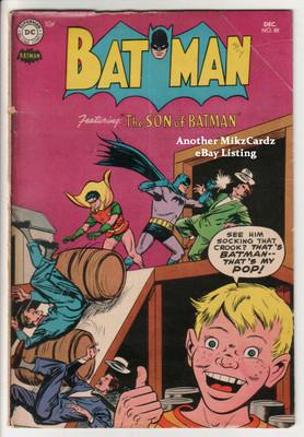 BATMAN #88 (Dec 1954) Good CONDITION Golden Age Comic Book