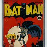 Batman #4 CGC 4.5 WHITE Joker 1st Gotham City Bob Kane DC Golden Age Detective