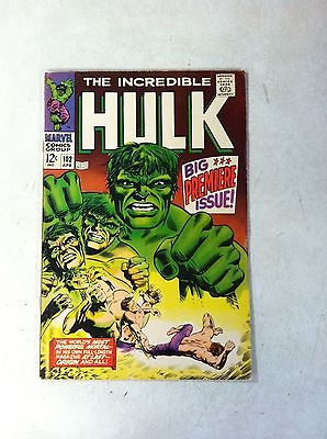 INCREDIBLE HULK #102 KEY ISSUE, ORIGIN, 1968, SEVERIN, AWESOME!!