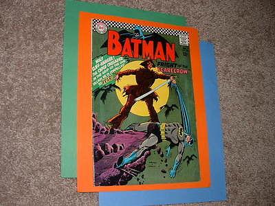 1967 DC Batman 189 1st Scarecrow Solid Very Good +